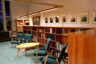 библиотека в академии Ларкулла