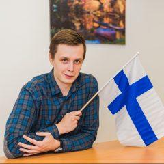 Матвей - преподаватель финского языка в Лингваконтакт