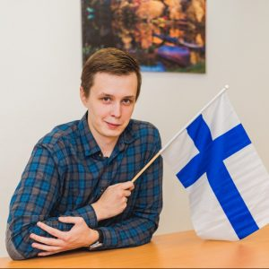 Преподаватель финского языка Матвей