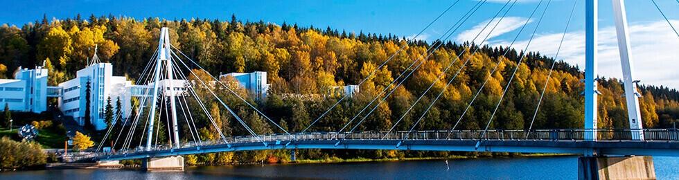 мост в городе Ювяскюля