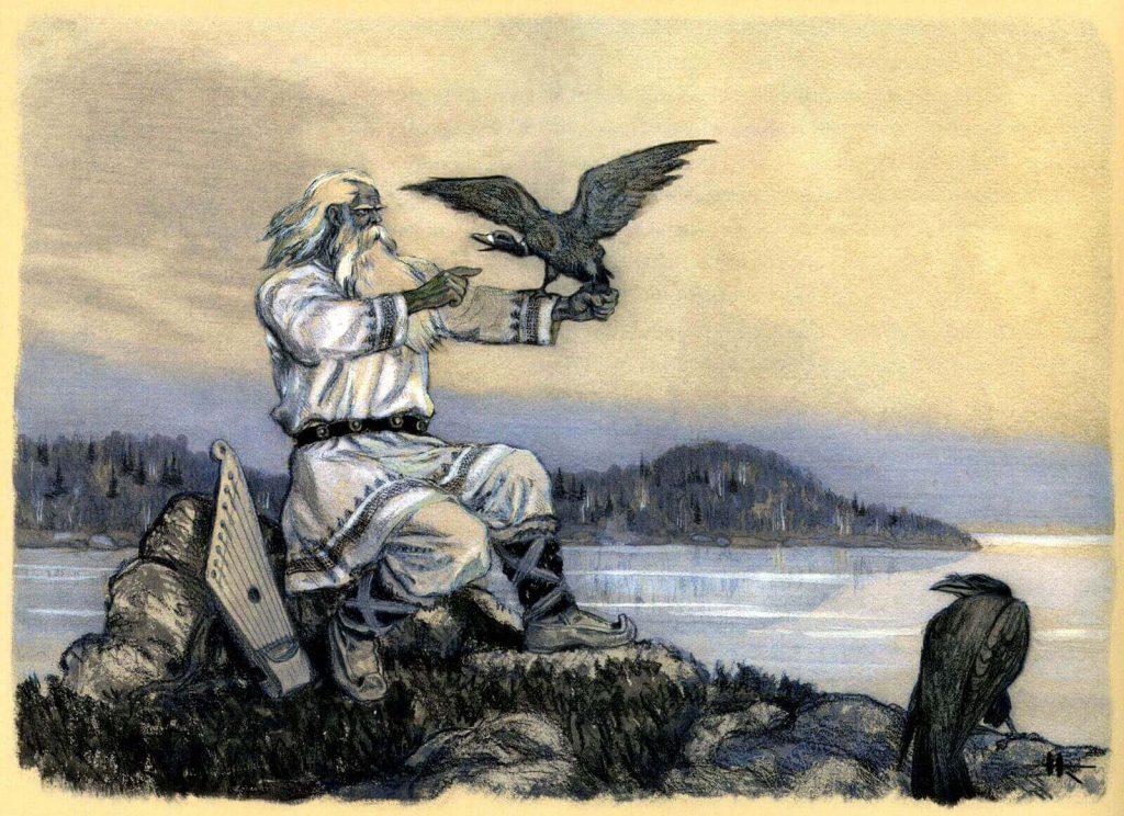 Калевала - Иллюстрации Николая Кочергина