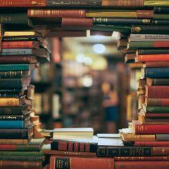 много книг в библиотеке