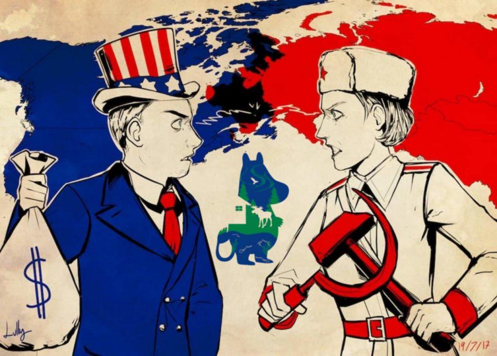 Противостояние Финляндии, России, США